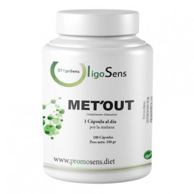 Met'out 180 capsulas